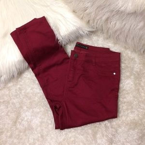 Tinseltown Berry Skinny Pants